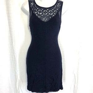 STARING AT STARS Navy ANTHROPOLOGIE Sexy Dress ~ S